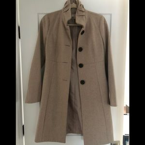 J. Crew Tan Pea Coat